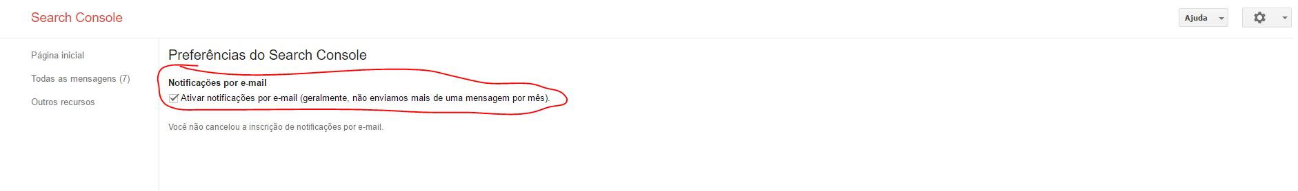 negative seo receber notificacoes via email
