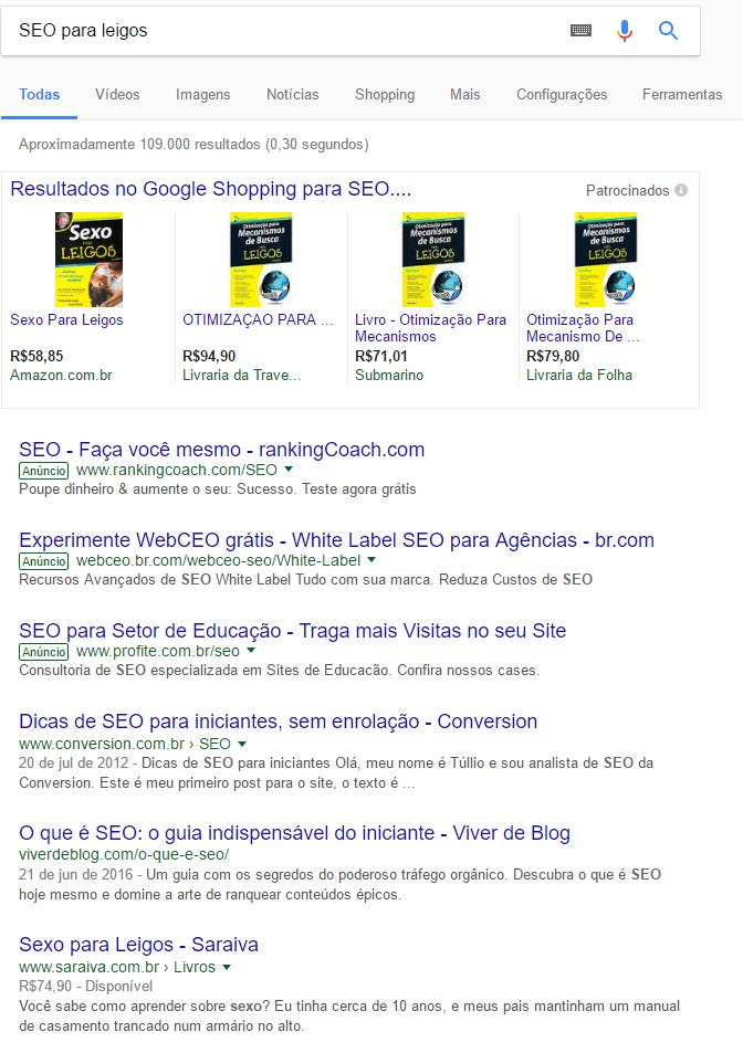 beija-flor algoritmo google