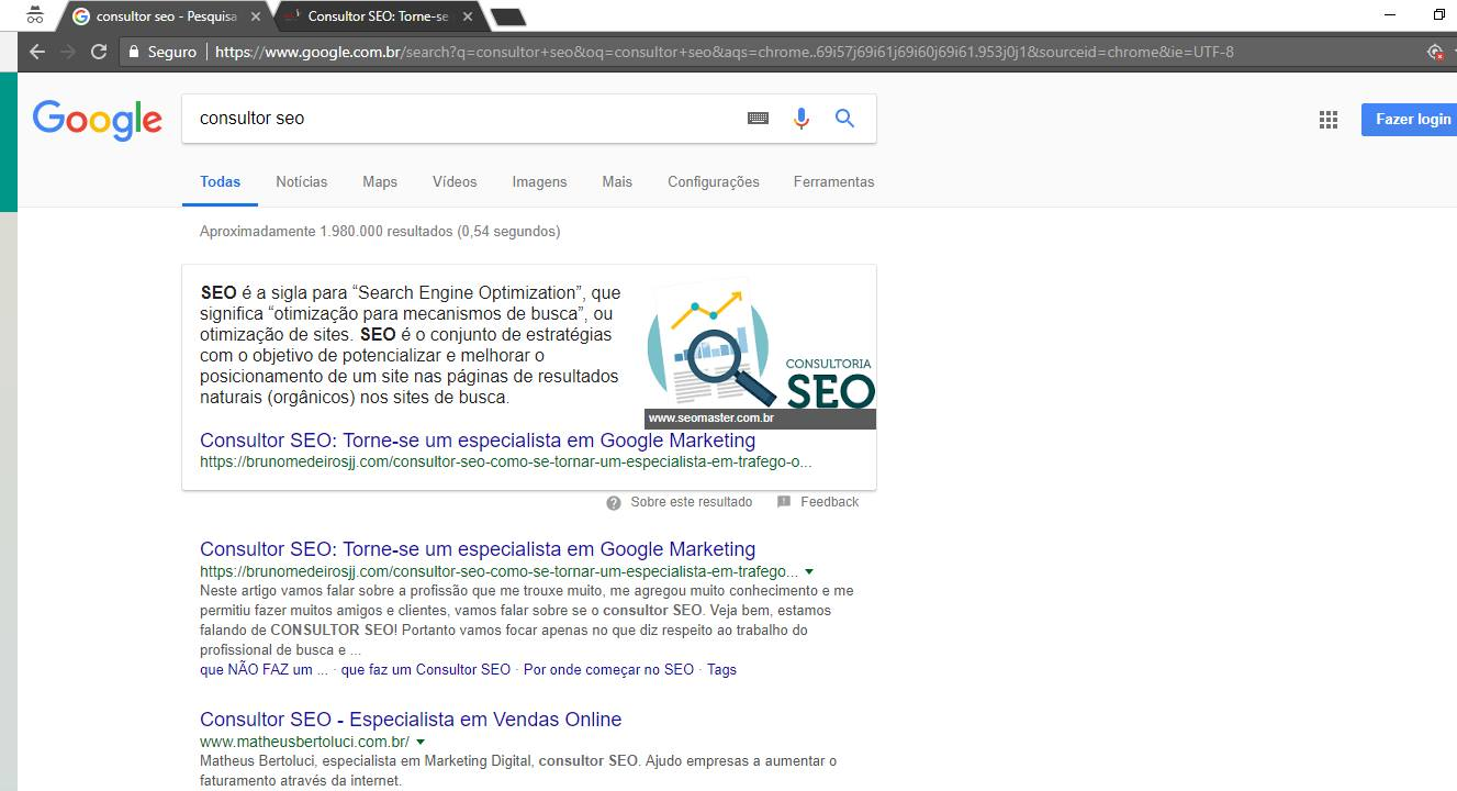 consultor seo top 1